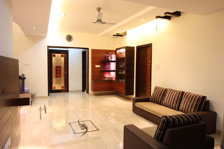 Salas de estar modernas por Ansari Architects Moderno