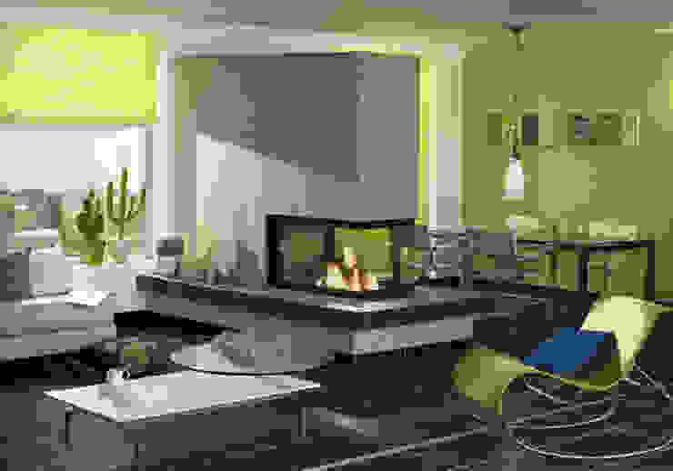 Moderne Kamine Moderne Wohnzimmer von Zerresquadrat GmbH Modern