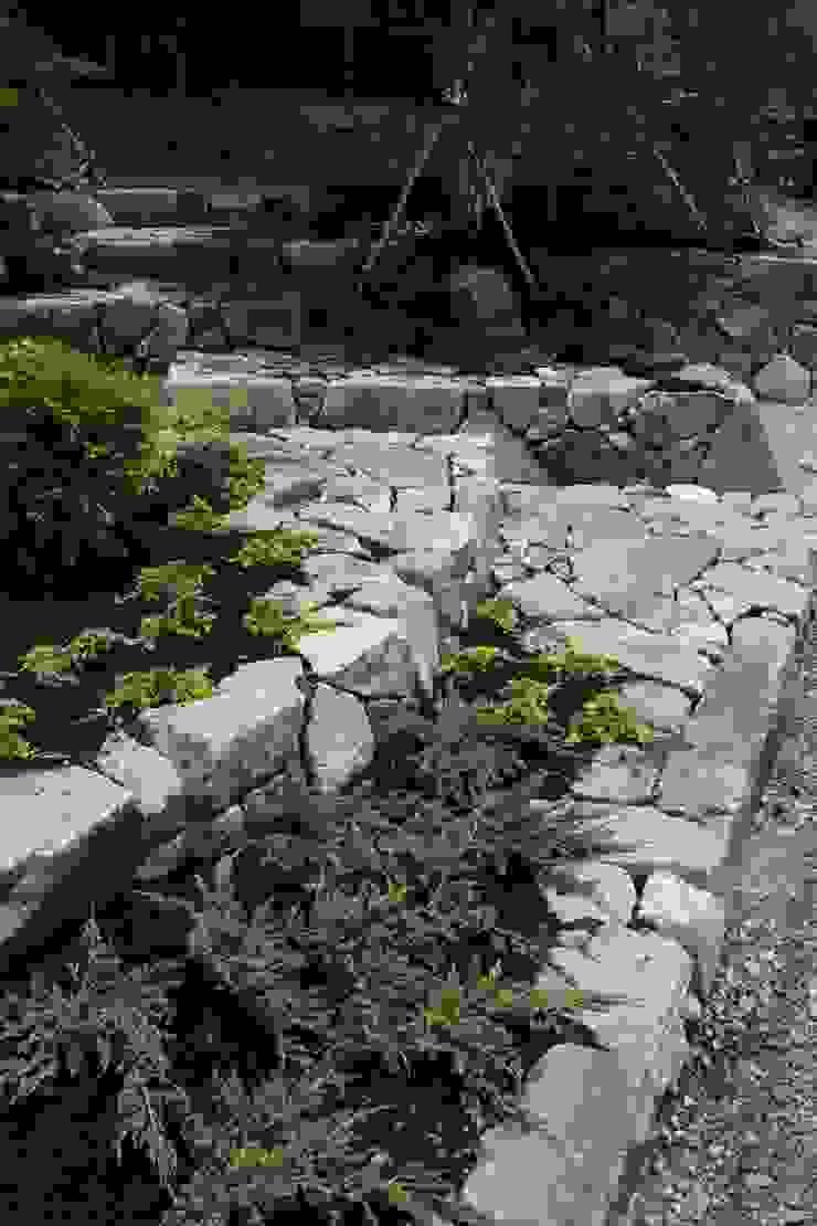 池田A邸 庭のクニフジ Modern Garden