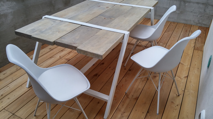 Elena Valenti Studio Design Dining roomTables Wood White