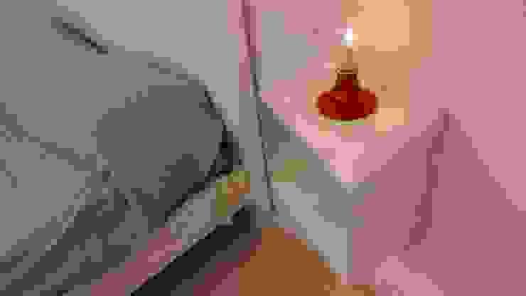 Elena Valenti Studio Design BedroomBedside tables Besi/Baja White