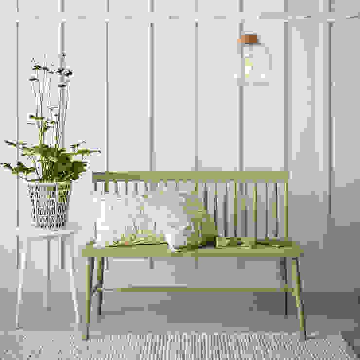 Laura Ashley Decoración Koridor & Tangga Gaya Rustic Wood effect