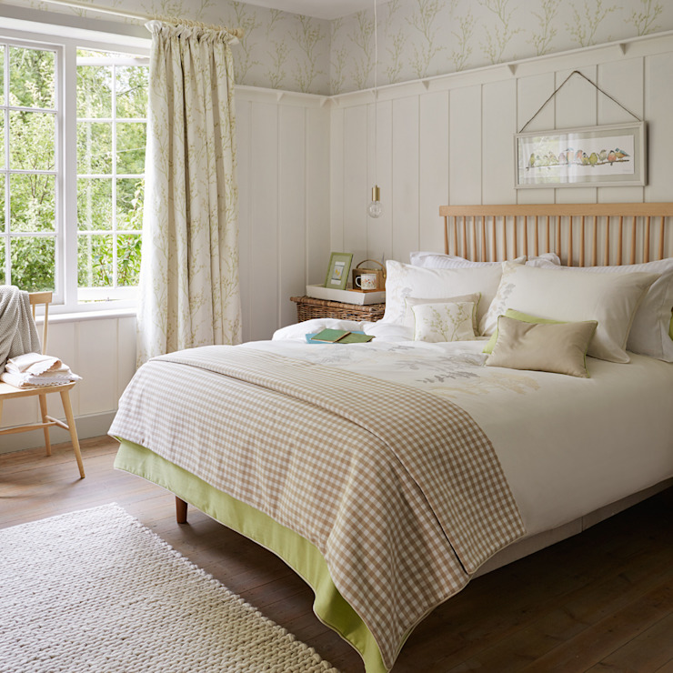 Rustic style bedroom by Laura Ashley Decoración Rustic