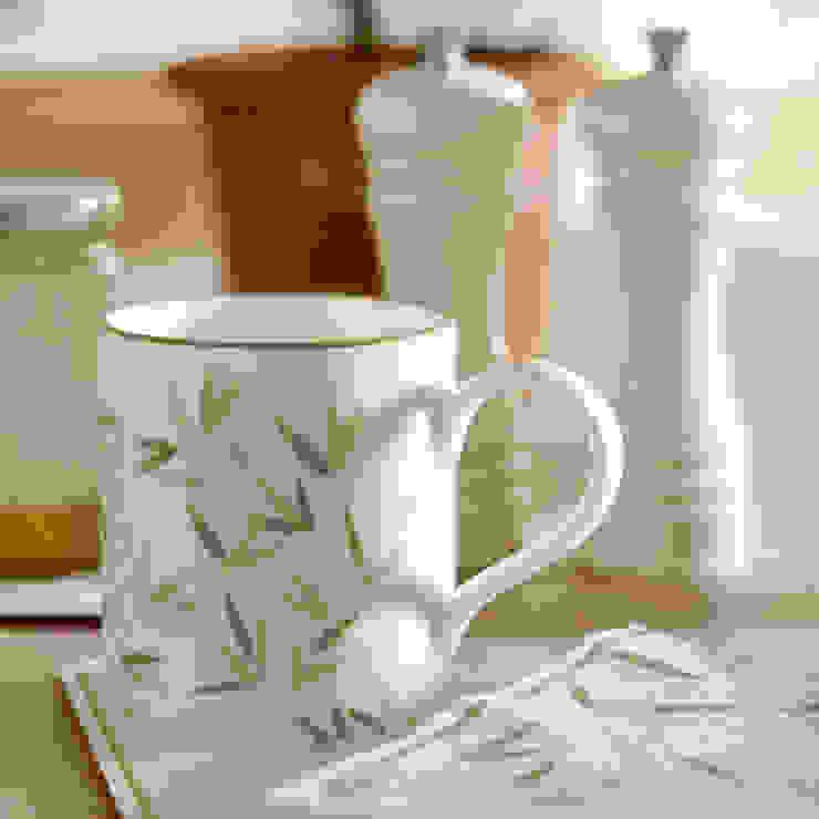 Laura Ashley Decoración KitchenCutlery, crockery & glassware Tembikar Green
