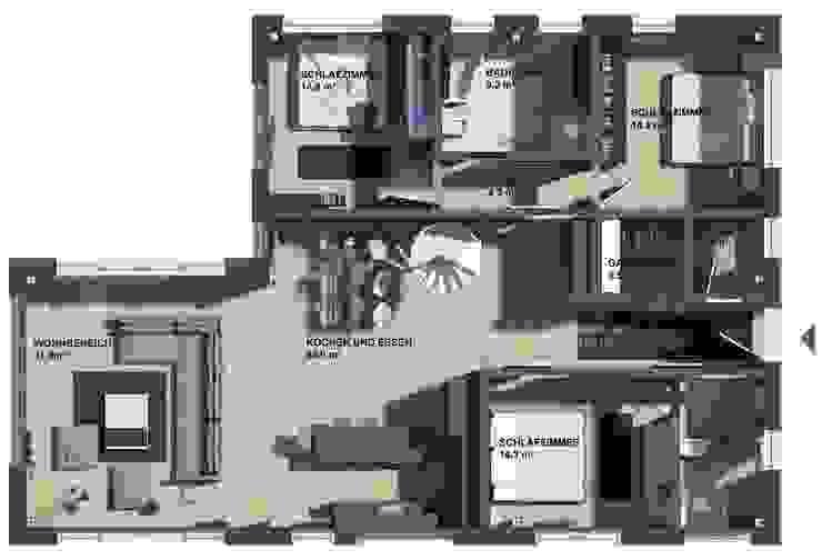 в современный. Автор – K-MÄLEON Haus GmbH, Модерн