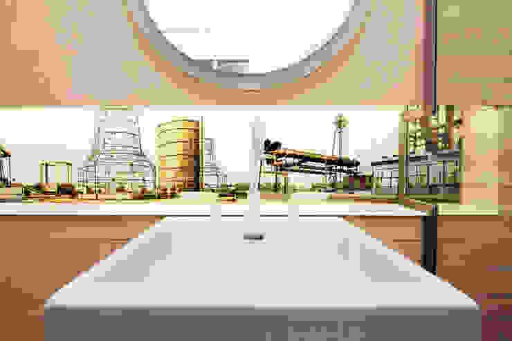 Bad Altbau Dortmund Moderne Badezimmer von Raumgespür Innenarchitektur Design Ilka Hilgemann Modern