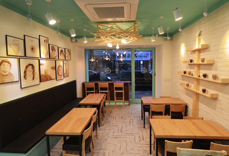 카페서 (Cafe Seo) by 진플랜 모던