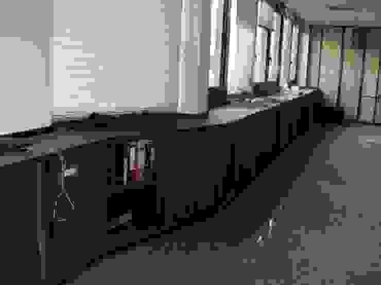 Sala de trabalho por IA Arquitectura&Interiores Moderno