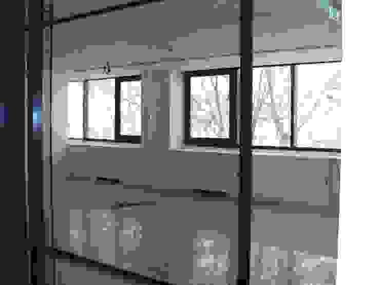 Sala de reuniões por IA Arquitectura&Interiores Moderno