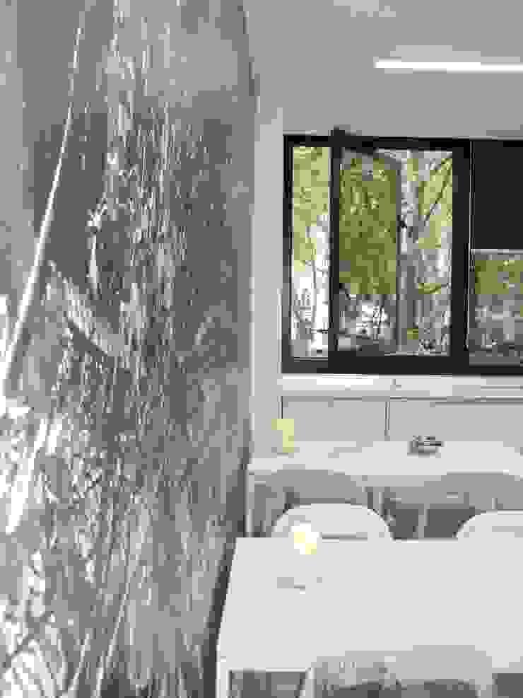 Zona de refeições por IA Arquitectura&Interiores Moderno