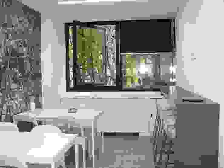 Espaço de Refeições por IA Arquitectura&Interiores Moderno