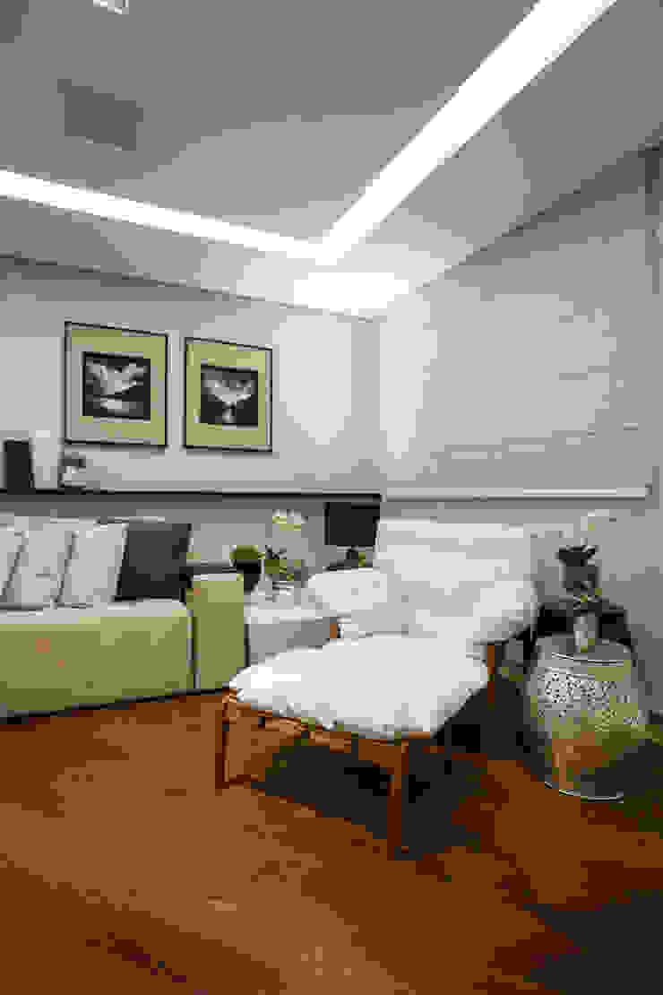 Arquitetura Ao Cubo LTDA Ruang Keluarga Modern