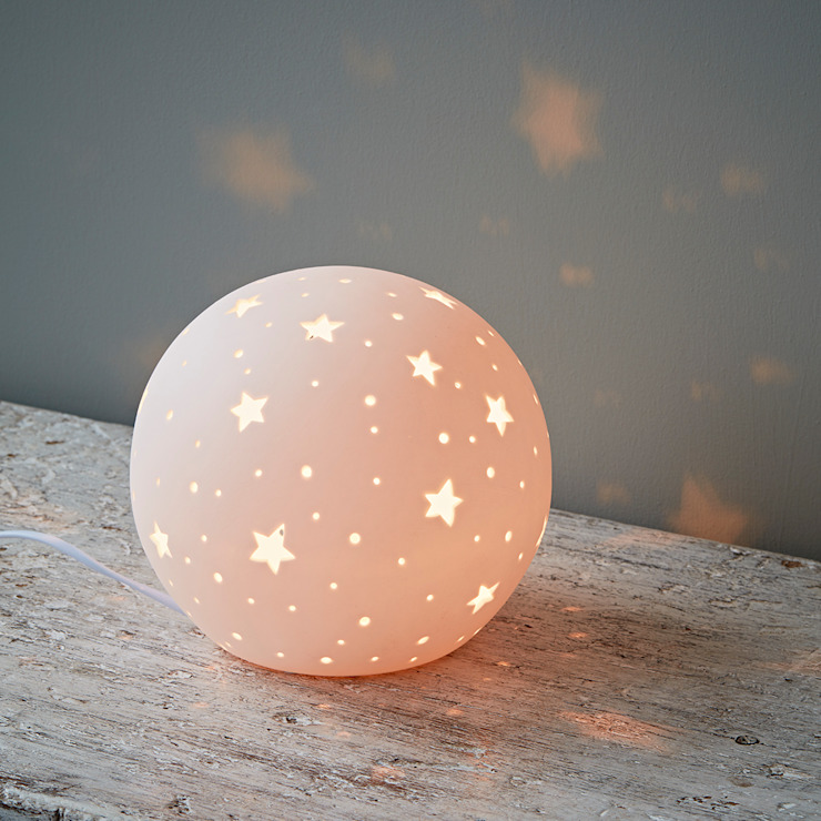 Ceramic Globe Light di rigby & mac Eclettico Ceramica