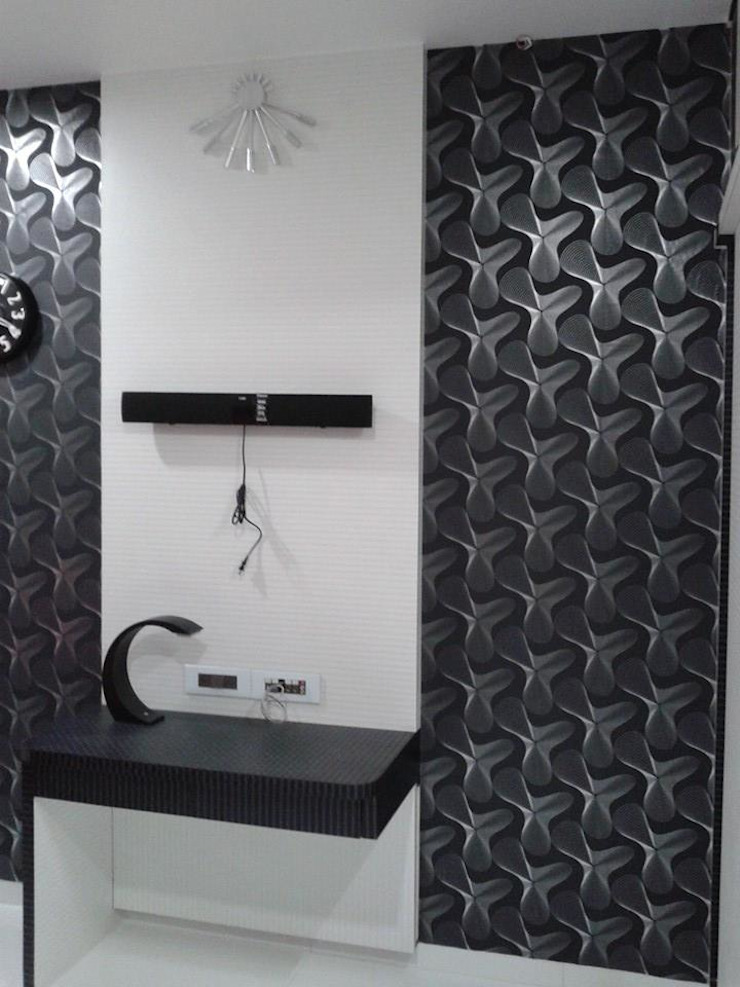 Mr Kamdar 20th Floor Modern bathroom by TRINITY DESIGN STUDIO Modern