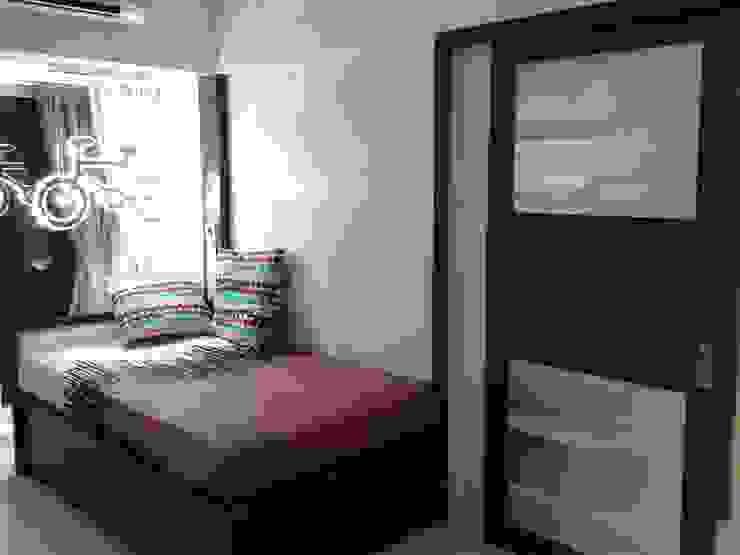 Mr Kamdar 20th Floor Modern style bedroom by TRINITY DESIGN STUDIO Modern