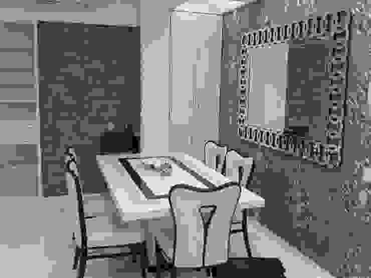 Mr Kamdar 19th Floor Modern dining room by TRINITY DESIGN STUDIO Modern