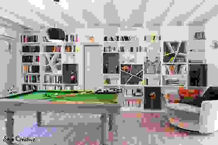 Agence boÔbo Modern Oturma Odası Orta Yoğunlukta Lifli Levha Beyaz