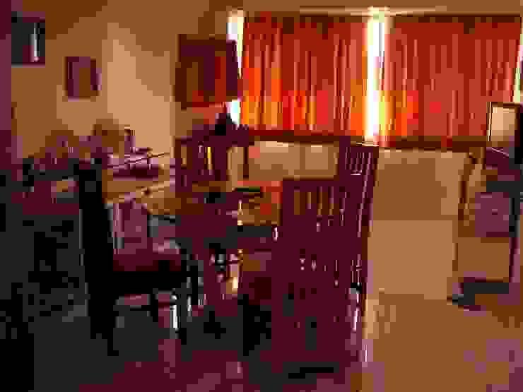 Residence Shivaji Park Modern dining room by TRINITY DESIGN STUDIO Modern