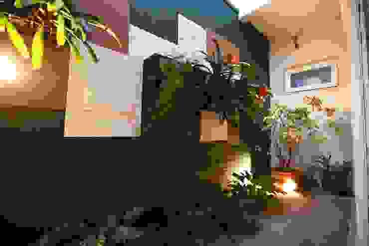 Nowoczesny ogród od Arquitetura Ao Cubo LTDA Nowoczesny