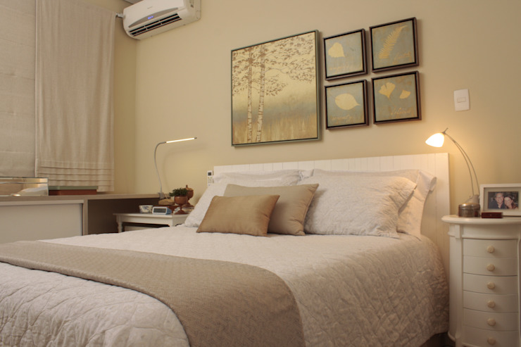 Phòng ngủ phong cách Địa Trung Hải bởi Fernanda Moreira - DESIGN DE INTERIORES Địa Trung Hải