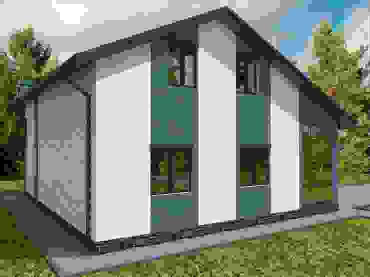 Casas de estilo  por Студия архитектуры и дизайна Вояджи Дарьи, Moderno