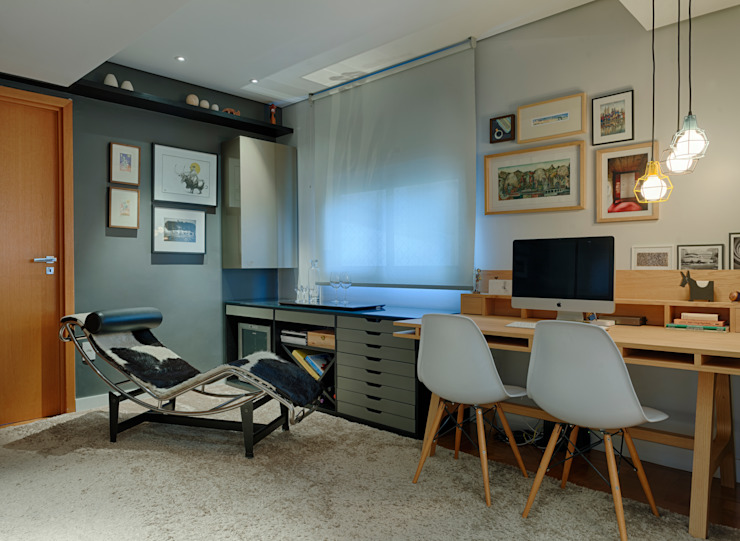 Study/office by CoGa Arquitetura, Modern