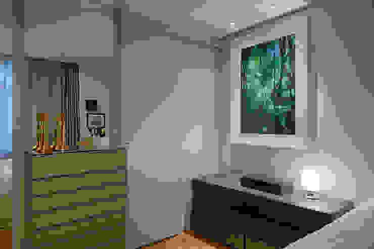 CoGa Arquitetura Camera da letto moderna