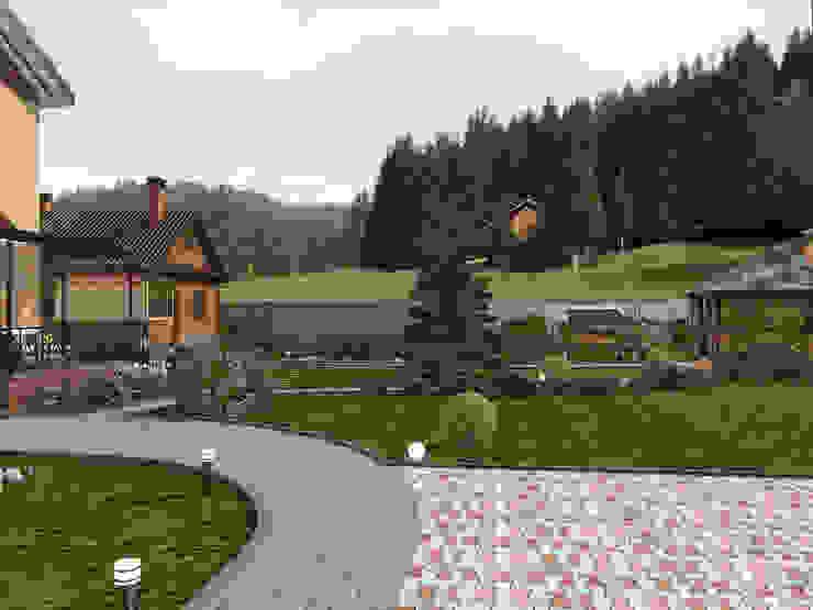 Moderne tuinen van Студия архитектуры и дизайна Вояджи Дарьи Modern