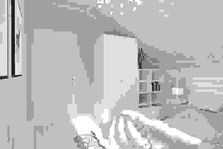 Scandinavian style bedroom by Студия архитектуры и дизайна Вояджи Дарьи Scandinavian