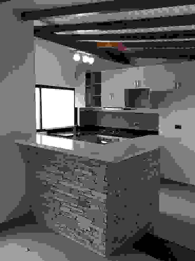 Barra de la cocina Cocinas modernas de ALSE Taller de Arquitectura y Diseño Moderno