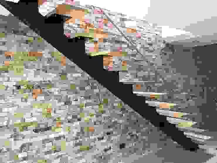 Modern corridor, hallway & stairs by ALSE Taller de Arquitectura y Diseño Modern