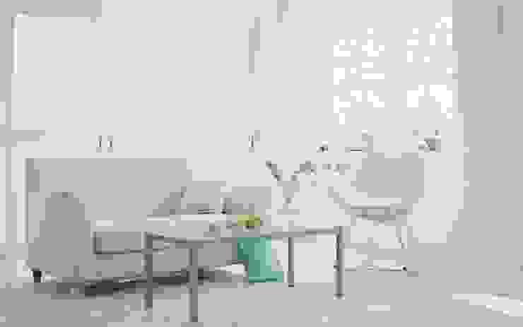 에클레틱 거실 by Студия архитектуры и дизайна Вояджи Дарьи 에클레틱 (Eclectic)