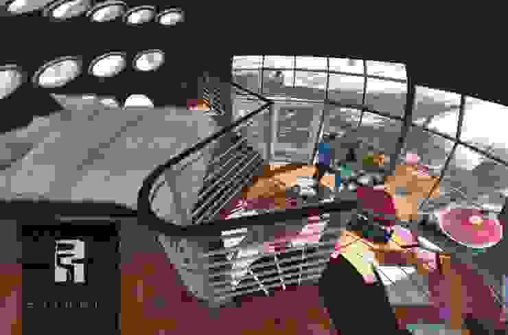 Estilo interior tipo Loft Dormitorios de estilo minimalista de homify Minimalista Contrachapado
