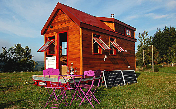 TINY HOUSE CONCEPT Maisons originales par TINY HOUSE CONCEPT - BERARD FREDERIC Éclectique