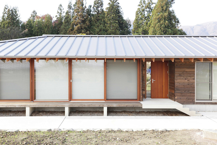 Houses by アーキテクチュアランドスケープ一級建築士事務所, Modern