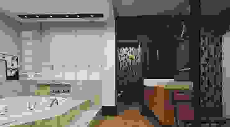 Modern style bathrooms by .Villa arquitetura e algo mais Modern