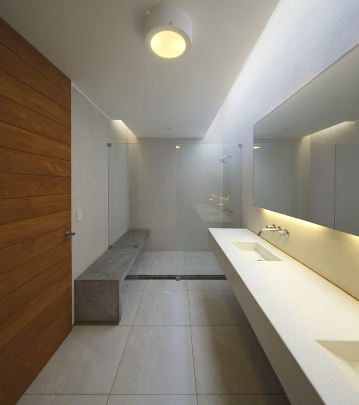 Casa oZsO Martin Dulanto 現代浴室設計點子、靈感&圖片