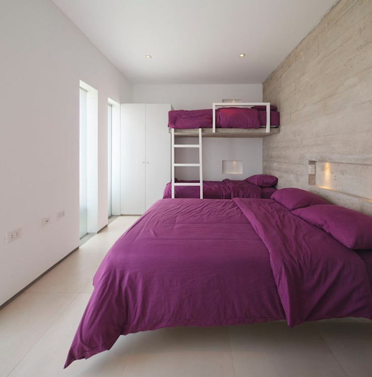Casa Maple Habitaciones modernas de Martin Dulanto Moderno