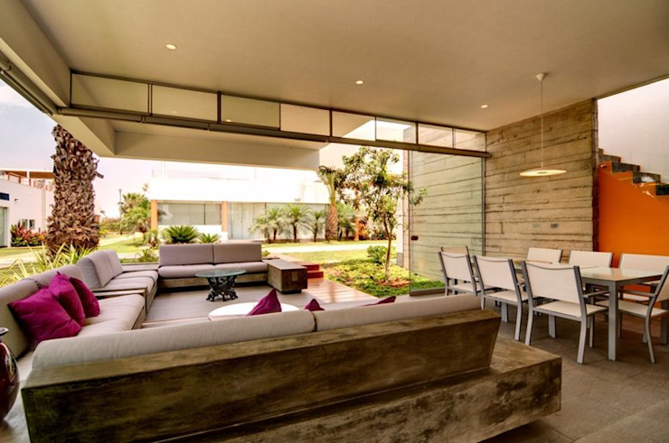 Casa Seta Moderne Wohnzimmer von Martin Dulanto Modern