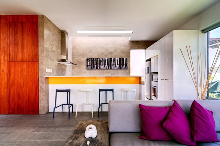 Casa Seta Martin Dulanto Cocinas de estilo moderno