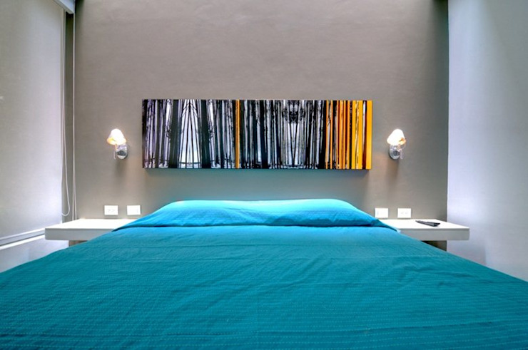 Casa Seta Chambre moderne par Martin Dulanto Moderne