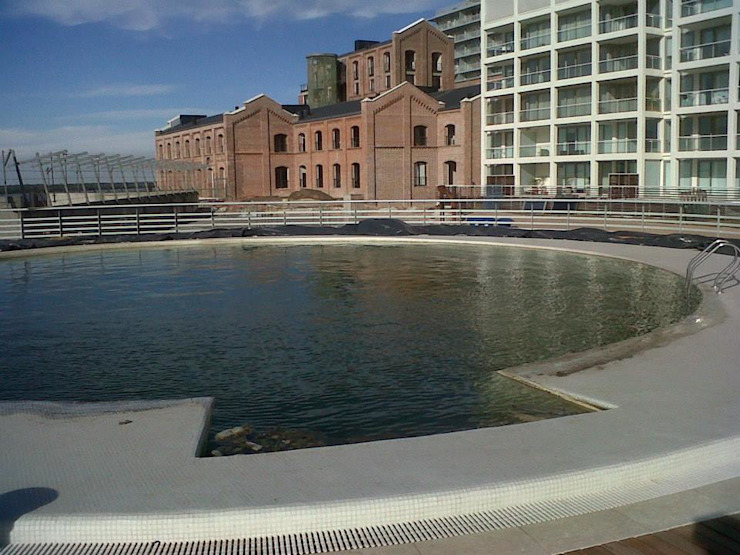 Forum Puerto Norte-Urbanizacion Museos de estilo moderno de Pribell SRL Moderno