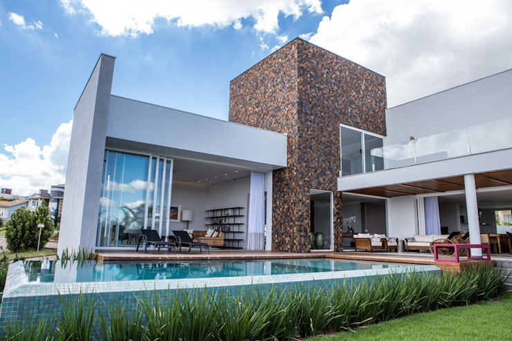 Residencia Domm Arquitetura Modern home by Domm Arquitetura Ltda Modern