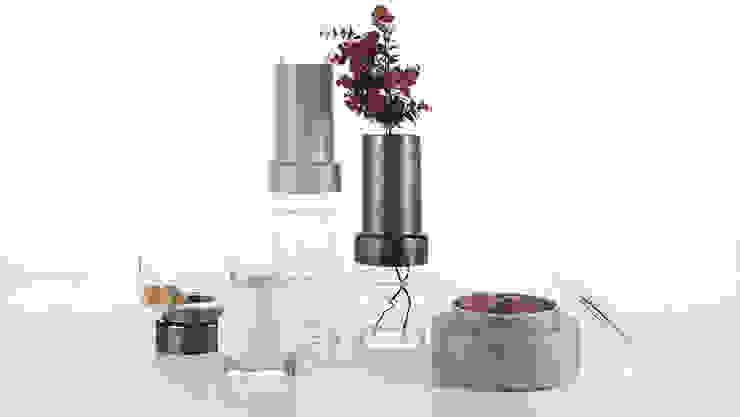 Tower Ceramic/Glass Vases por Jomaze, lda Escandinavo Cerâmica