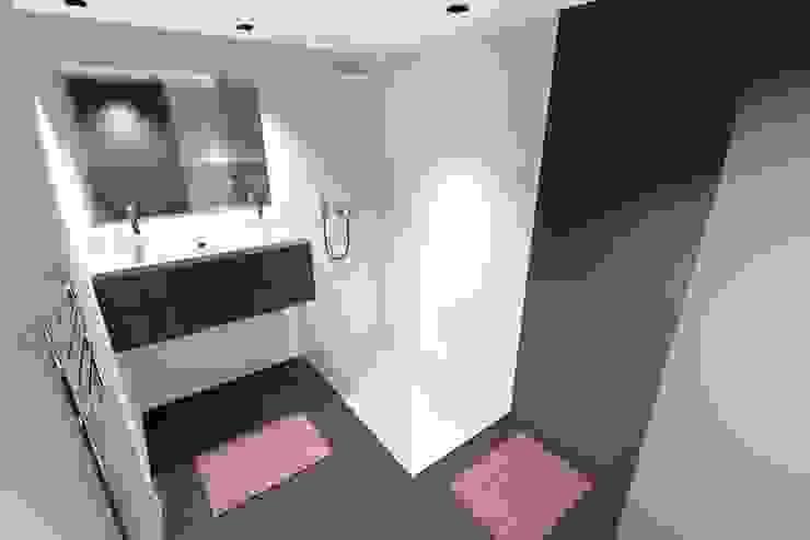 Baños minimalistas de Concepteur Designer d'Espace - Cyril DARD Minimalista