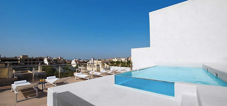 Piscina INSIDE UNIC POOLS® > Piscinas Ligeras Piscinas de estilo mediterráneo