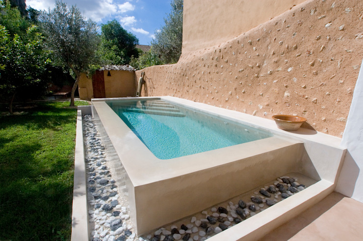 UNIC POOLS® > Piscinas Ligeras Piscina in stile rustico