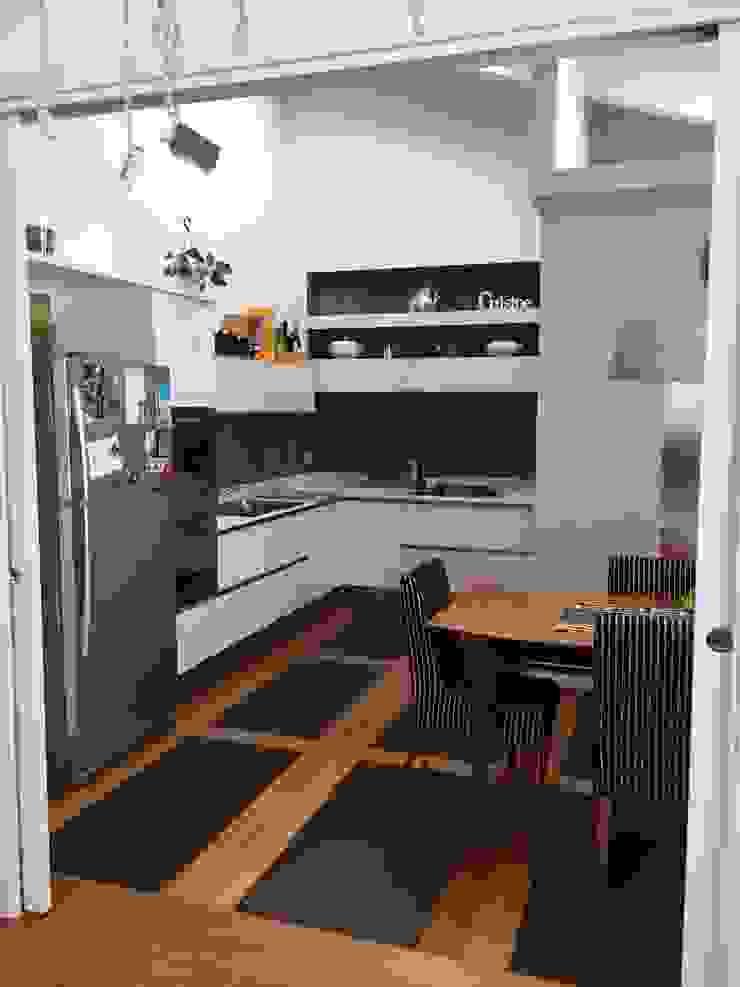 bilune studio Modern kitchen