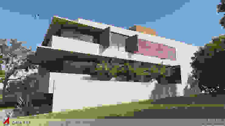 FACHADA LATERAL Casas modernas por STUDIO LUIZ VENEZIANO Moderno