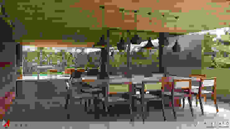 JANTAR Salas de jantar minimalistas por STUDIO LUIZ VENEZIANO Minimalista